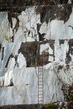 Le cave del marmo - alpi di Apuan, Carrara, Fotografia Stock