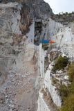 Le cave del marmo - alpi di Apuan, Carrara, Immagine Stock Libera da Diritti