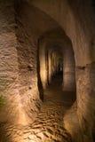 Le caverne Fotografia Stock