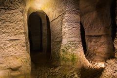 Le caverne Fotografia Stock Libera da Diritti