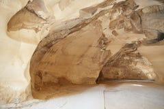 Le caverne del gesso, Israele Immagine Stock