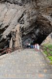 Le caverne di Arta in Mallorca Immagini Stock Libere da Diritti