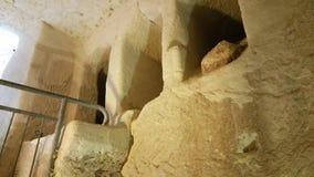 Le caverne di Beit Jovrin Immagini Stock