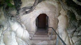 Le caverne di Beit Jovrin Fotografie Stock Libere da Diritti