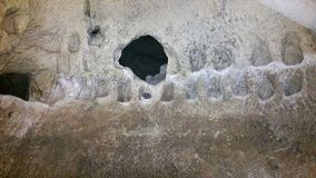 Le caverne di Beit Jovrin Fotografia Stock Libera da Diritti