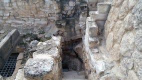 Le caverne di Beit Jovrin Fotografie Stock