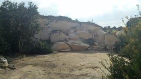 Le caverne di Beit Jovrin Immagine Stock