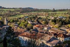 Le Caylar, Francia Foto de archivo libre de regalías