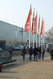 Le CeBIT 2011 zones Photo stock