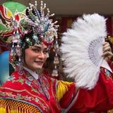 Celebrazioni cinesi dell'nuovo anno - Bangkok - Tailandia Fotografie Stock Libere da Diritti