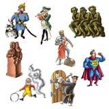 Le celebrità di Germany_3 royalty illustrazione gratis