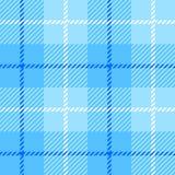Le cellule senza cuciture di struttura del tessuto del plaid con le bande Scozia picchiettano illustrazione di stock