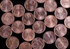 le cent invente l'euro Photographie stock libre de droits