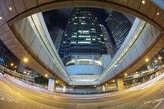 Le central de Connaught Rd au HK 2016 Photographie stock