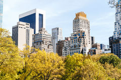 Le Central Park d'étang, New York City Photos stock