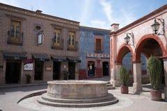 Le centre colonial de Bernal, Mexique Images libres de droits