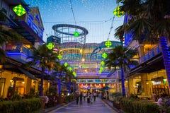 Le centre commercial de courbe Damansara images libres de droits