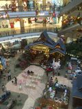 Le centre commercial malaisien se prépare à Eid Image libre de droits