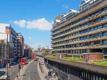 Le centre de barbacane ? Londres est l'un des exemples les plus populaires et les plus c?l?bres de l'architecture de Brutalist da photos stock