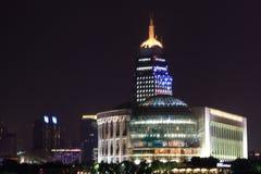 Le centre de Conférence Internationale de Changhaï Photos libres de droits