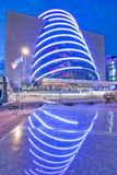 Le centre de convention Dublin Images libres de droits
