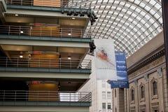 Le centre de Denver pour des arts du spectacle Photographie stock libre de droits