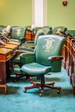 Le centre de l'administration en Providence, Île de Rhode images libres de droits