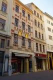 Le centre de la ville Brno le 30 avril 2016 Brno est la deuxième plus grand ville dans la République Tchèque Photo stock