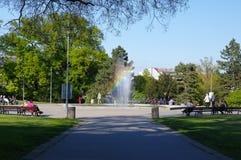 Le centre de la ville Brno le 30 avril 2016 Brno est la deuxième plus grand ville dans la République Tchèque Photographie stock