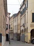 Le centre de la ville historique de Padoue photographie stock libre de droits