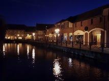 Le centre de la ville de Salisbury de maltages Photographie stock