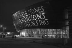 Le centre de millénaire du Pays de Galles Image libre de droits
