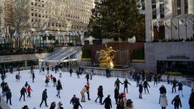 Le centre de Rockefeller à New York Photos libres de droits