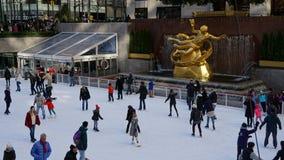 Le centre de Rockefeller à New York Images stock