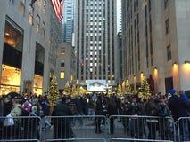 Le centre de Rockefeller à New York Image libre de droits