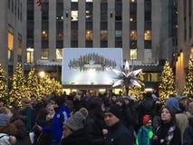 Le centre de Rockefeller à New York Photo libre de droits