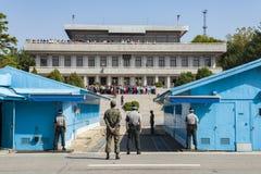 Le centre du ` s du monde de Panmunjom images libres de droits