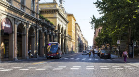 Le centre historique de Bologna Images stock