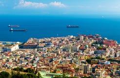 Le centre historique de Napoli Images libres de droits