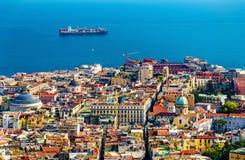 Le centre historique de Napoli Image libre de droits