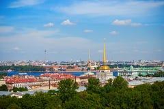 Le centre historique de St Petersburg Photos libres de droits