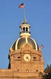 Le centre municipal (1), la savane la Géorgie Photos libres de droits