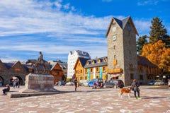 Le centre municipal de Bariloche photographie stock libre de droits