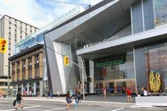 Le centre nouvellement rénové de Rideau s'ouvre au public Image libre de droits