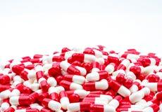 Le centre sélectif de l'antibiotique capsule des pilules Photos libres de droits