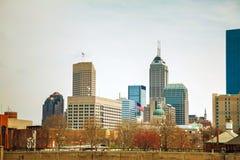 Le centre ville d'Indianapolis Photo stock