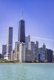 Le centre ville de Chicago Photo libre de droits