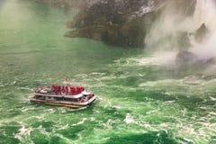 Le centre ville de chutes du Niagara, Ontario, Canada images libres de droits