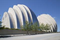 Le centre ville de exécution gentil d'Art Center dedans de la ville le Kansas images libres de droits