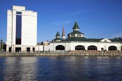 Le centre ville de Joliet Photos stock